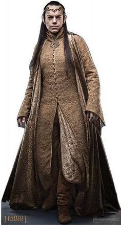 Full view of one of Hobbit Elrond's costumes