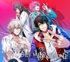 "Hypnosis Mic Division All Stars release music video for ""Hoodstar"" Cute Anime Boy, Anime Guys, All Star, Rap Battle, Division, Cover Art, Memes, Music Videos, Manga"