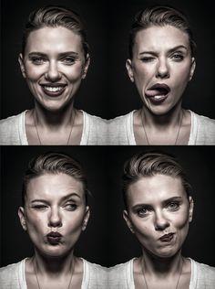 Scarlett Johansson by Andy Gotts