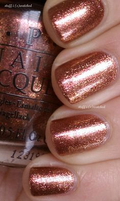 OPI - Sprung - (I Sing in the Coppera)