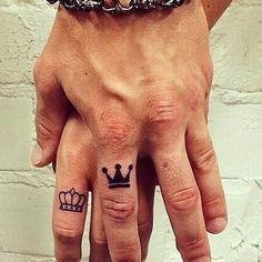 Tatuaje de una pereja...