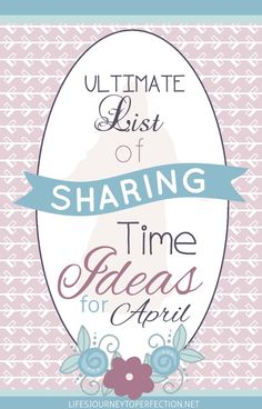 {Ultimate List} of LDS Sharing Time ideas for April 2016: Jesus Christ Is My Savior and Redeemer