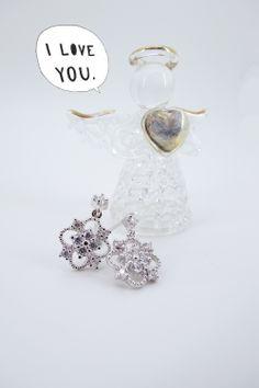 #Fei fei et bu#earrings#jsterling silver#ewelry https://www.facebook.com/feifeietbu