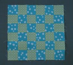 Quilters love the nine patch quilt pattern, and it's been one of the most popular quilt block patterns for quite some time. Make a fun little variation that'll pop right out on any pattern by turning your nine patch quilt block patterns into 36 patch blocks!