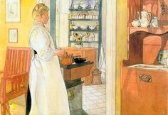 Carl Larsson, Anna-Arnbom on Flickr. #culinary, #art