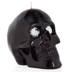 Black Skull Candle from Z Gallerie