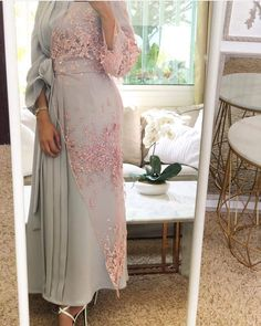 Luxury caftan available whatsaap order Price. Abaya Fashion, Muslim Fashion, Modest Fashion, Fashion Dresses, Hijab Evening Dress, Hijab Dress Party, Eid Outfits, Muslim Dress, Classy Dress