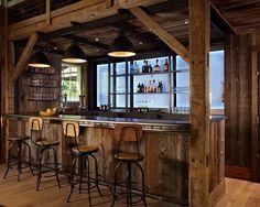 Rustic Home Bar Furniture