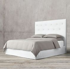 Morrison Tufted Fabric Bed