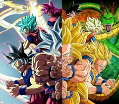 Dragon Ball Z and Super Dragon Ball Gt, Goku Y Vegeta, Son Goku, Goku Pics, Best Anime Shows, Manga Dragon, Fanart, Cool Art, Anime Art
