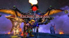 Dungeon Defenders - lutando contra o dragão :)