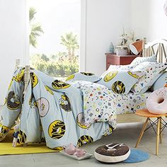 LELVA Kids Bedding for Girls and Boys Cotton 4Pcs Donut P... https://smile.amazon.com/dp/B01GQBF704/ref=cm_sw_r_pi_dp_x_ifqpyb04TY907