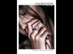 """Grand Prix de la Publicité Presse Magazine par SEPM 2010 Palmarès: Mauboussin - """"Love Face"""" - Gaultier Collette Paris - AdForum: Award Winning Ads"""