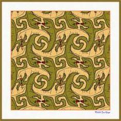 Gallery : Escher tilings