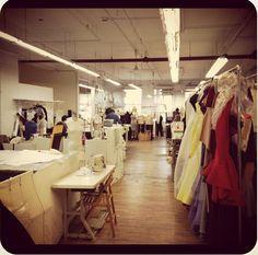 The #zacposen #studio today. So happy to be back #Home #prefall #atelier