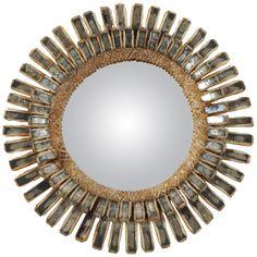 1960 Line Vautrin Talosel Mirror, 'Gerbera'   1stdibs.com