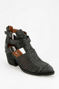 Jeffrey Campbell Stillwell Fisherman Ankle Boot. WOW these are amazing.