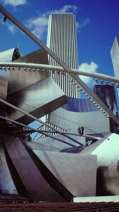 Millenium Park- Chicago, IL.....i like this angle