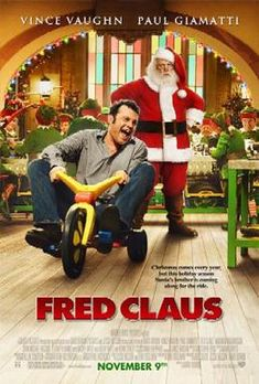 Fred Claus: Directed by David Dobkin. With Vince Vaughn Paul Giamatti Elizabeth Banks John Michael Higgins. Fred Claus Santa's bitter older brother is forced to move to the North Pole. Christmas Movies List, Christmas Movie Night, Hallmark Christmas Movies, Christmas Shows, Hallmark Movies, Holiday Movies, Christmas Time, Chrismas Movies, Classic Christmas Movies