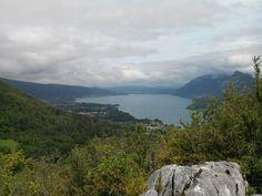 Lac d'Annecy depuis le taillefer à Duingt