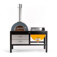"""This 'grilloven' is on another level - Curbedclockmenumore-arrow : The creators are touting it as the """"world's first two-in-one outdoor grill and oven"""""""