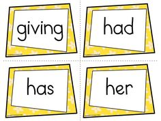 You will receive a complete set of 41 words. There are 4 flash cards on each sheet. I have also included 7 blank flash cards. Here are further selections that you might like: First Grade Dolch Sight Words Spring Notebook First Grade Freebies, Kindergarten Freebies, First Grade Activities, Easel Activities, Kindergarten Teachers, First Grade Sight Words, Dolch Sight Words, Spelling Words, First Grade Math