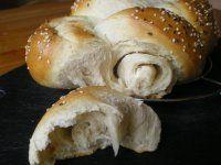 Pletienka s kyslou smotanou Party Food And Drinks, 20 Min, Bagel, Hamburger, Bread, Pizza, Foods, Basket, Kitchens