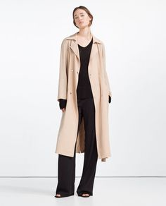 ZARA - COLLECTION SS16 - FLOWING TRENCH COAT