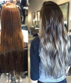 Smokey Balayage - Hair Color - Modern Salon