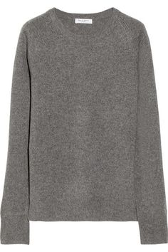 Gray cashmere  Slips on 100% cashmere Dry clean