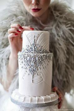 winter cake #rockmywinterwedding @Derek Imai Smith My Wedding