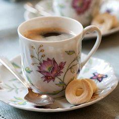 Set de Café Fleur Royal Limoges