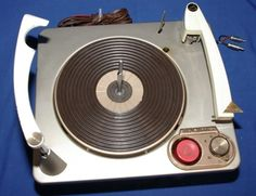 1950s RCA Victor Stereo-Orthophonic RP205 Turntable Record Player New Stylus