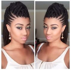 Love The Style! - www.blackhairinfo... #braidsandtwists