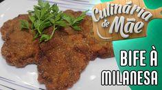 Culinária de Mãe #21 - Bife à Milanesa
