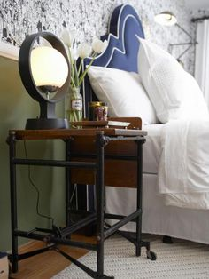 Find ways to upcycle old furniture and turn unwanted junk into funky new treasures.