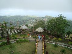 People's Palace in the Sky, the highest peak in Tagaytay City. Gives you a very good view of the whole place.