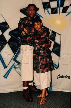 Andre Rison & Left Eye taking pics at the club. They took better pics. (I will replace this when I come across them)