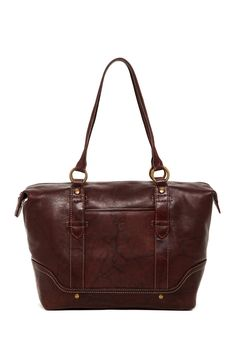 Campus Leather Zip Tote by Frye on @nordstrom_rack