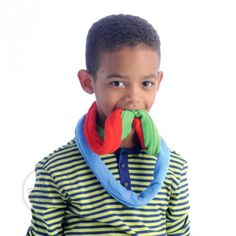 Fun and Function's Bite Bands are an ideal chew toy for children with sensory processing disorder or autism. They absorb drool and help kids focus.