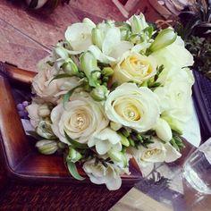 Bride bouquet with diamonds