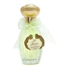 Annick Goutal Le Jasmin perfume reminds me of gingerale and jasmine blossoms.