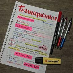 Resultado de imagem para termoquimica anotacoes