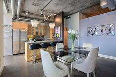//廚房 //餐廳 17 Dazzling Industrial Dining Room Interior Designs That Will Amaze You