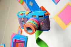 Paper camera by Zim & Zou