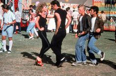 Grease - I think I know every line of the movie.  <3