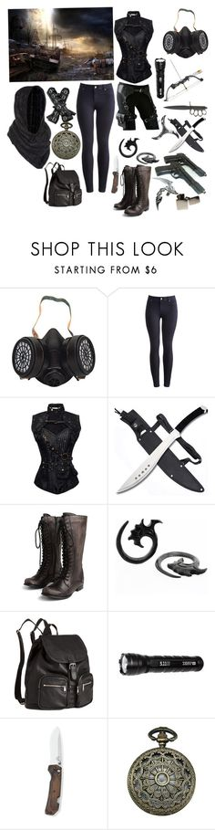 """""""Post Apocalypse Series"""" by jinx-the-nerd ❤ liked on Polyvore featuring beauty, GAS Jeans, Joules, Zippo, Miz Mooz, H&M and 5.11 Tactical"""