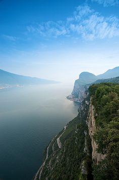 Lago di Garda vista panoramica #panorama #lakegarda #gardasee #lagodigarda