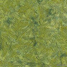 Island Batik Hand Printed Cotton - Amazon Jungle SP20-D1