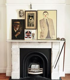 I can't wait to do a quirky portrait wall somewhere in my house...